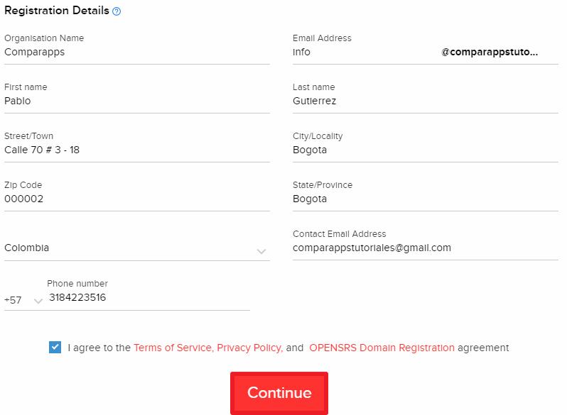 Zoho cómo crear correos corporativos paso 7
