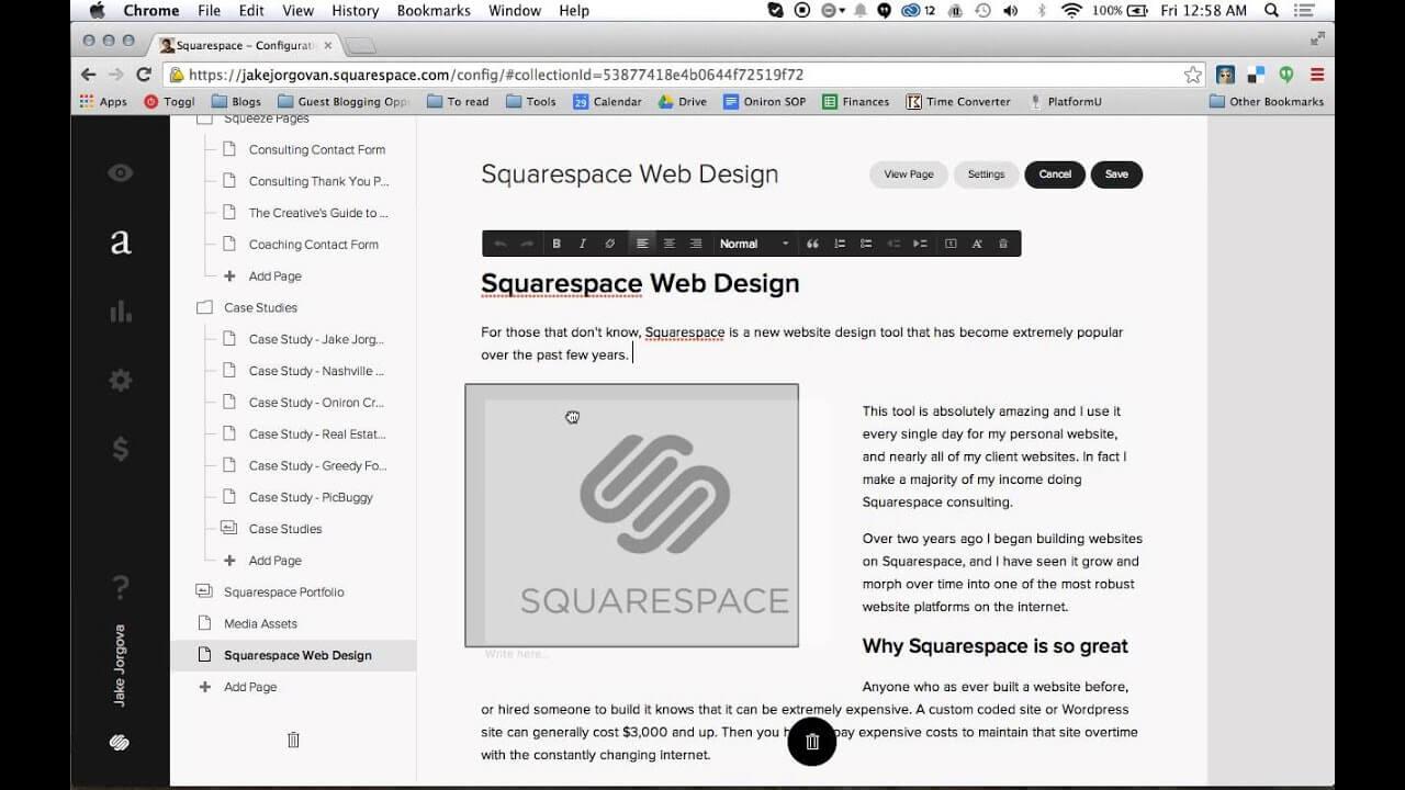 Squarespace 1