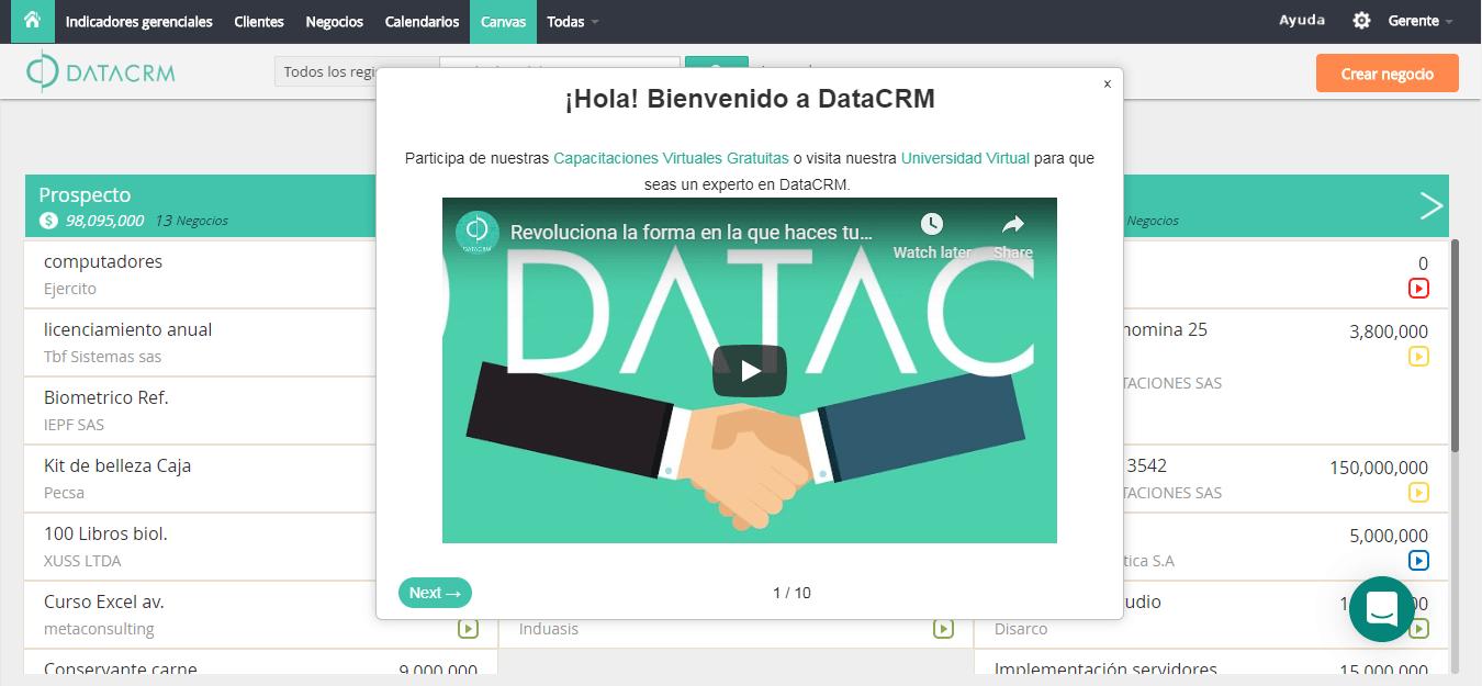 DataCRM 1