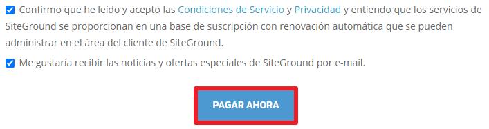 pago siteground