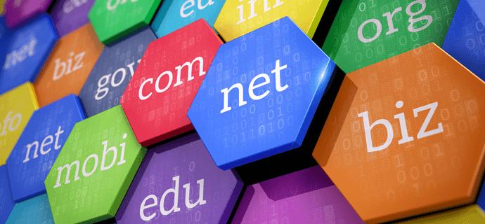 extensiones de dominios en internet
