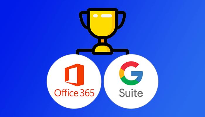 Office 365 vs G Suite comparacion