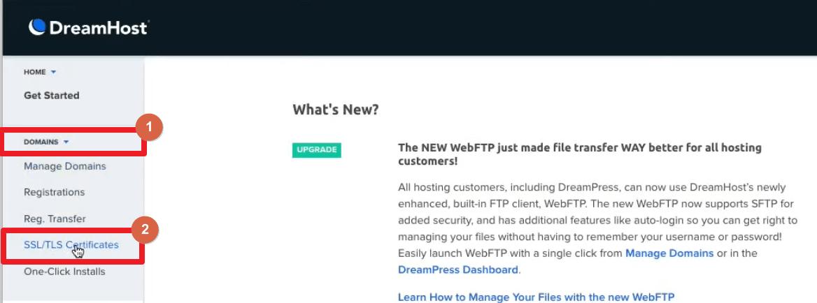Paso 1 Certificado SSL Gratis WordPress