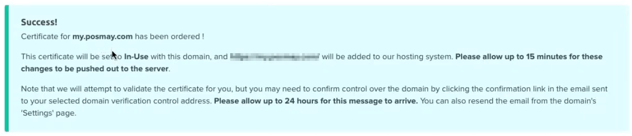 Paso 4 Certificado SSL Gratis WordPress