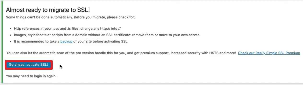 Paso 7 Certificado SSL Gratis WordPress