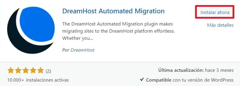 instalar plugin migracion wordpress